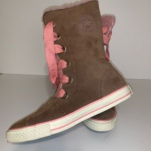 CONVERSE ALL STAR SUEDE BOOTS